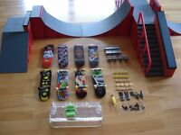 Tech Deck Skate Park and Skateboards Bundle - Excellent Condition