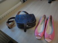 LADIES FLAT SHOES - LE BUNNY BLUE new
