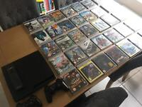 PlayStation 3 PS3 Slim Console + Games Bundle