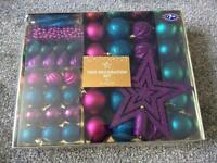 50 piece Christmas decoration set