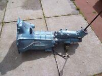 Morris Minor 1000 Gearbox