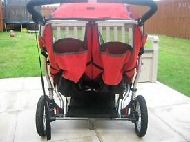 Out n about nipper double push chair