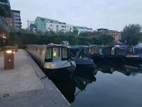Narrow boat B&B birmingham city center from £100 a night