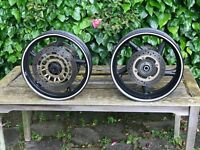 Honda cb 600 FA hornet wheels and disc 2007-2015 wheels streetfighter