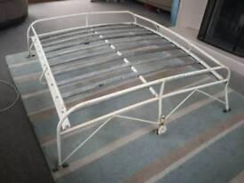 Classic VW Beetle roof rack, flat 4