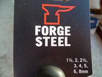 BN Forge Steel Metric Folding Hex Key Set 8 Pieces - 1.5, 2, 2.5, 3, 4, 5, 6 and 8mm.