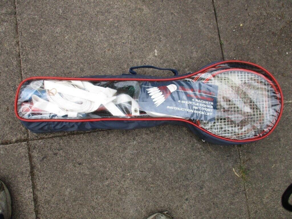 Garden Badminton Set In Sutton Coldfield West Midlands Gumtree