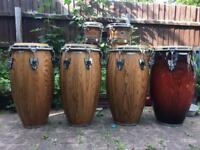 Meinl woodcraft congas, bongos,