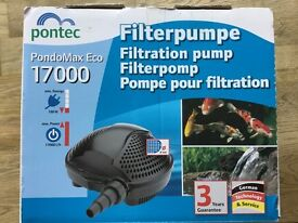Pontec PondoMax Eco 17000 Pond Filtration Pump