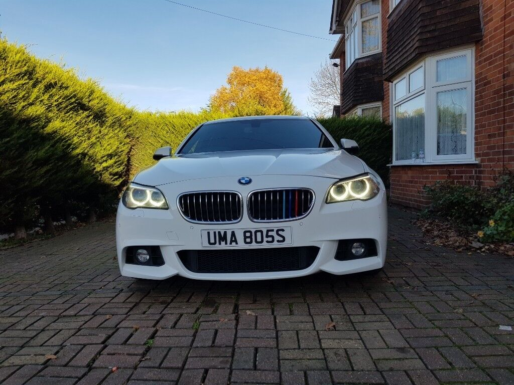 2014 BMW 5 SERIES 2 0 520D F10 M SPORT MANUAL ALPINE WHITE  IMMACULATE  CONDITION! | in Reading, Berkshire | Gumtree