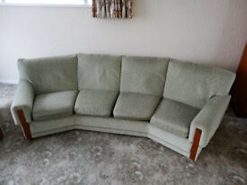 4 seater sofa and armchair