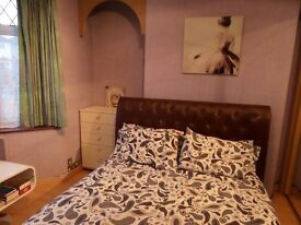 Comfortable double room available in friendly Gay Male shared house - fully furnished incl TV & WiFi