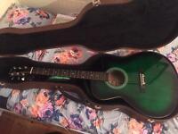 Benson semi-acoustic guitar