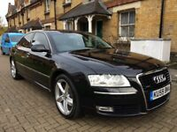 AUDI A8 SPORT 3.0 TDI Quattro 2009 FULL SERVIS HISTORY HPI CLEAR PX WELCOME