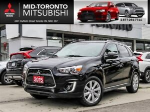 2015 Mitsubishi RVR GT AWD|Leather|Panoramic Sunroof|Back Up Cam