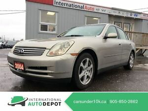 2004 Infiniti G35X AWD / NAVI / LEATHER / MOONROOF