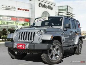 2016 Jeep Wrangler Unlimited SAHARA | DEMO CLEAROUT | HUGE SAVIN