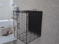 Two small dog crates for sale