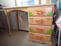 Harrods children's bookshelf and desk (sold together/separately)!