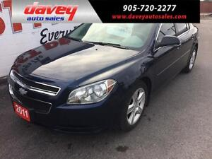 2011 Chevrolet Malibu LS REMOTE START, ALLOY WHEELS, MP3 INPUT