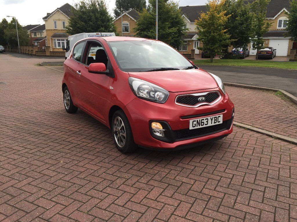 2013 (63) Kia Picanto 1.0 City Petrol Manual 3 Door Only 12000 Miles 1