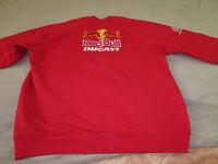 ducati sweatshirt red