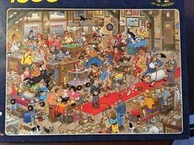 1500 piece Comic Puzzle by Jan Van Haasteren