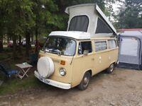 ** REDUCED ** Splendid VW T2 Westfalen 70s Camper for sale - LHD