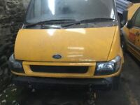 Ford Transit Dropside - MOT Failure needs a lot of welding