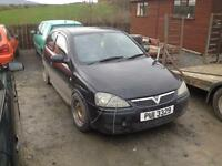 Vauxhall corsa c sxi breaking all parts cheap