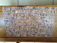 Collection of 200+ Queen Victoria Penny Lilac Stamps