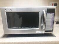 Sharp R-21 ATP Stainless Steel 1000W Microwave