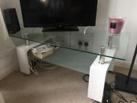 Glass TV Table/Coffee Table