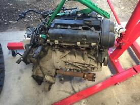 Ford 1.25l 16v engine with manual gearbox complete