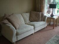 Sofa - large, cream