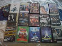 Bundle of 16 DVDs