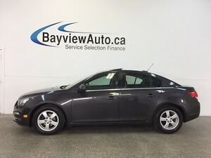 2015 Chevrolet CRUZE LT- TURBO! ROOF! LEATHER! REMOTE START!