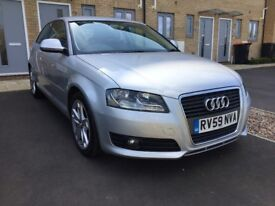 Audi A3 1.9 TDIe Sport 3dr 59 plate Full Service History