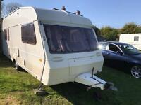 Caravan 4/5/6 berth Abbey Stafford 1994 lovely condition Clevedon