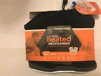 therma gear heated neck warmer, scarf, body warmer, scarfs, heat packs, heated pack