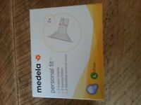 NEW Medela original Personal Fit Large 27mm breast sheilds