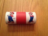 Mario/Luigi reversible Nintendo DS game case