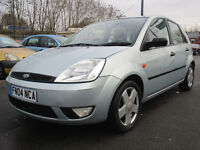 2004 FORD FIESTA 1.4 Flame Limited Edition 5dr 12 MONTHS MOT DRIVES EXCELLENT