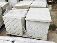 Brick/Block Paving Effect concrete paving slabs 450x450x38mm