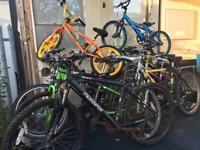 Job lot bikes chairs office chests