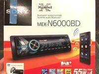 Sony MEX-N6000BD less than a yr old