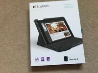 Logitech TYPE+ Keyboard case for iPAD Air 2 New and Unused