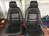 Saab Front Seats