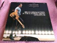 BRUCE SPRINGSTEEN - LIVE 1975/1985 - 5 X VINYL L.P BOX SET