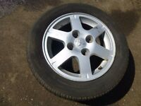 """Mitsubishi Lancer 2003-2008 15"""" ALLOY WHEEL and TYRE 195/60 R15 ref.R16/2"""
